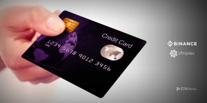 Binance added the ability to purchase cryptocurrency using credit cards through the application